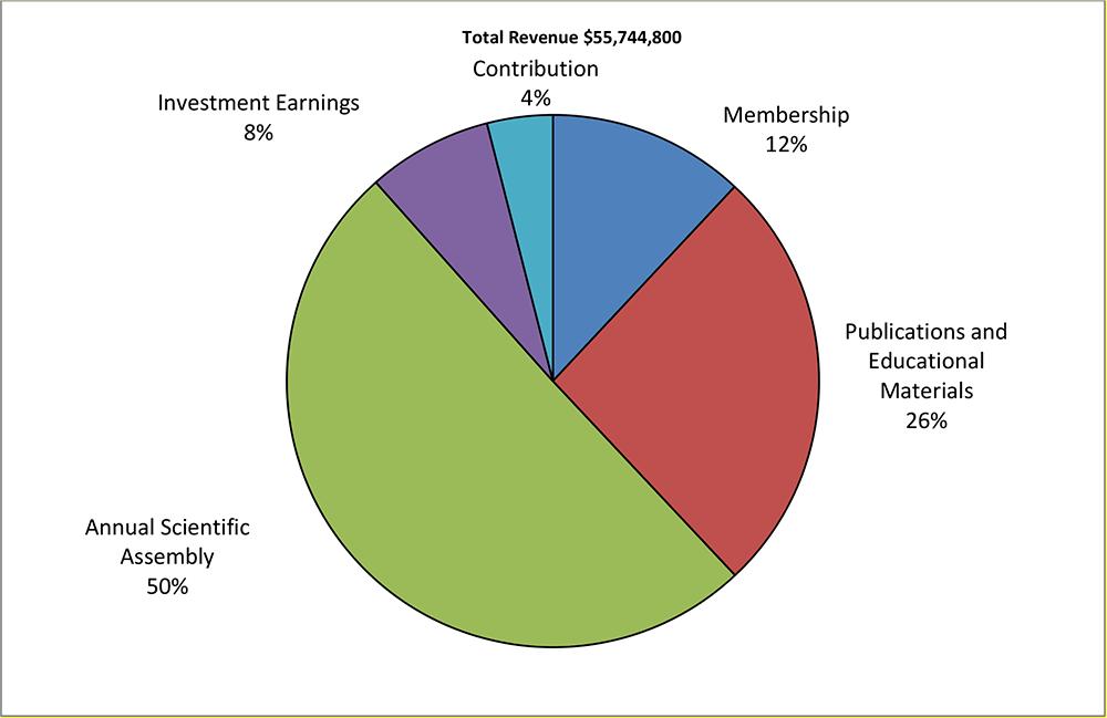 2019 Total Revenue Graph