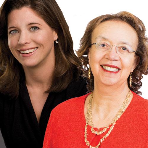 Michele Johnson, MD and Christine Porath, PhD