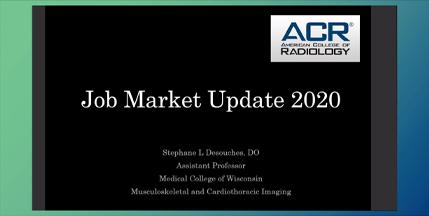 2020 Job Market Update Screenshot