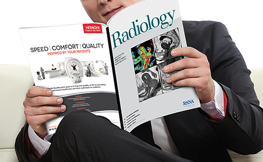 Man reading Radiology