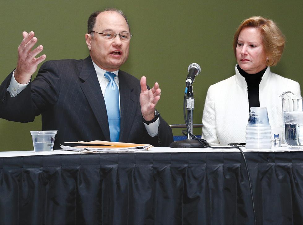 Thomas Greeson, J.D., and Cynthia Moran.