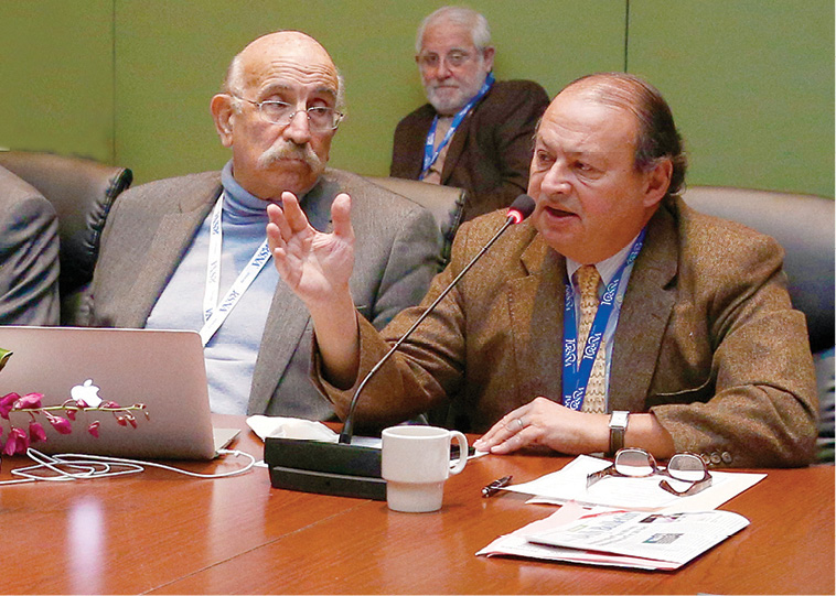 Radiology experts from over 25 countries gathered to discuss radiation safety during the International Trends meeting at RSNA 2014.