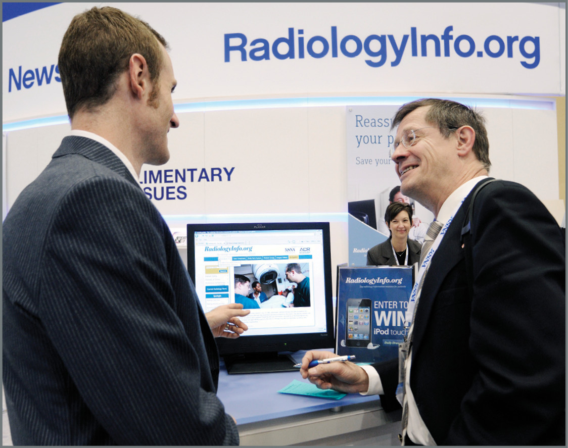 RadiologyInfo.org is featured as an important patient communication tool in patient-centered radiology courses presented to radiologists at RSNA 2015.