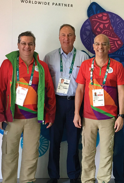 Radiologists were integral to the Olympic medical team