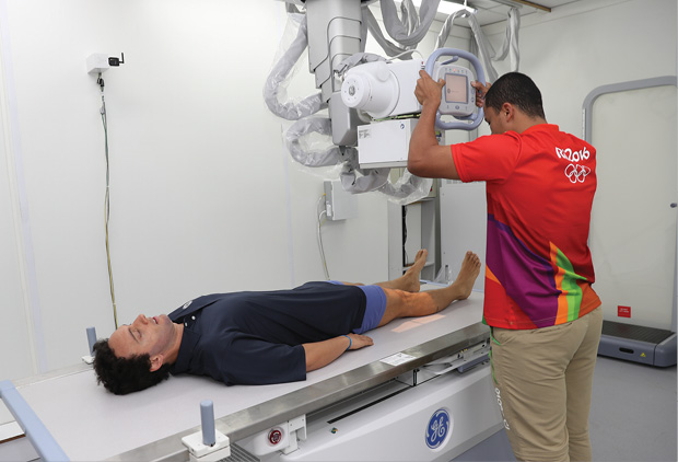 The Olympic Games Polyclinic