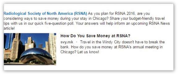 RSNA Survey post