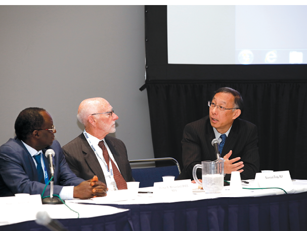 Radiologists from across the globe met