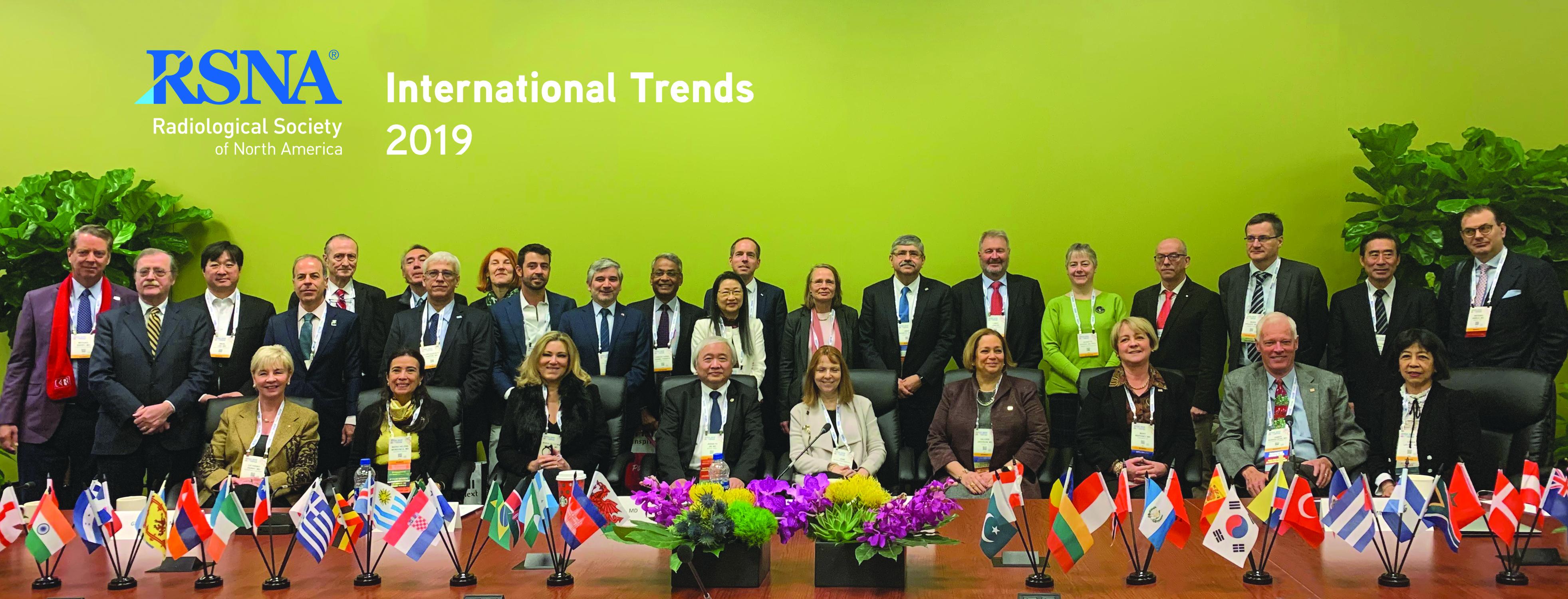 RSNA 2019 International Trends Meeting