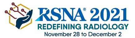 RSNA 2021 logo with dates