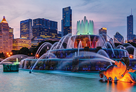 What to see at RSNA in Chicago: Buckingham Fountain