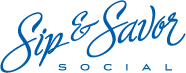 Sip and Savor Logo