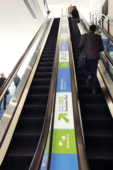 Escalator Runner 2013