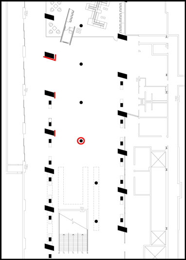 McCormick Lounge floorplan
