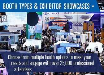 Booth Types and Exhibitor Showcases