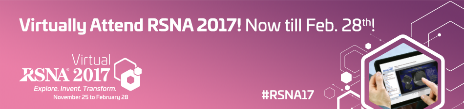 Virtually Attend RSNA 2017!!