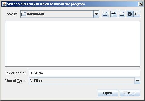 MIRC Windows OS installation screenshot