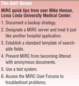 RSNA MIRC Software Can Be Used To Create A Teaching File System For Public Or Private Use The Also By Clinical Trials Sites