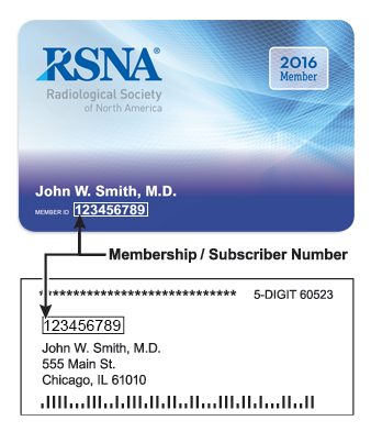 2016 Membership Card and Label