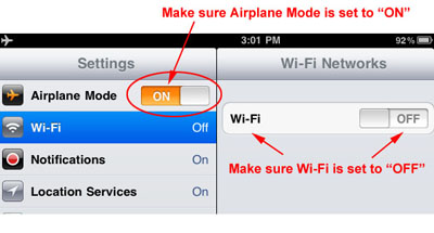 App Airplane Mode