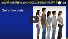 How to Convert an Interview Into a Job Offer