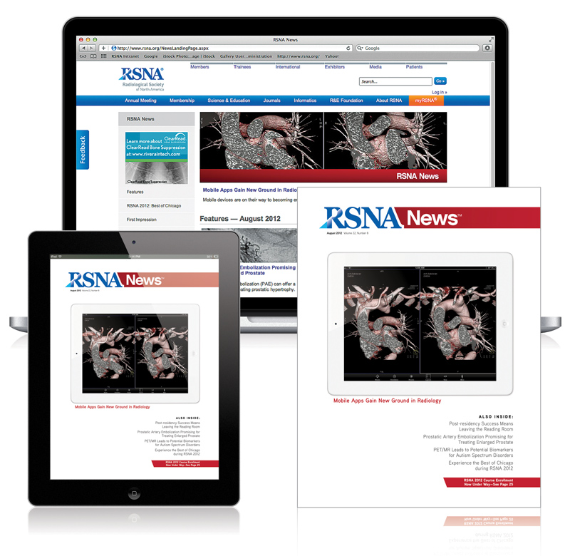 RSNA News, multiple formats