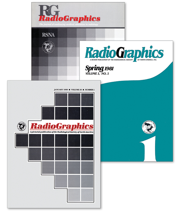 Radiographics historic covers