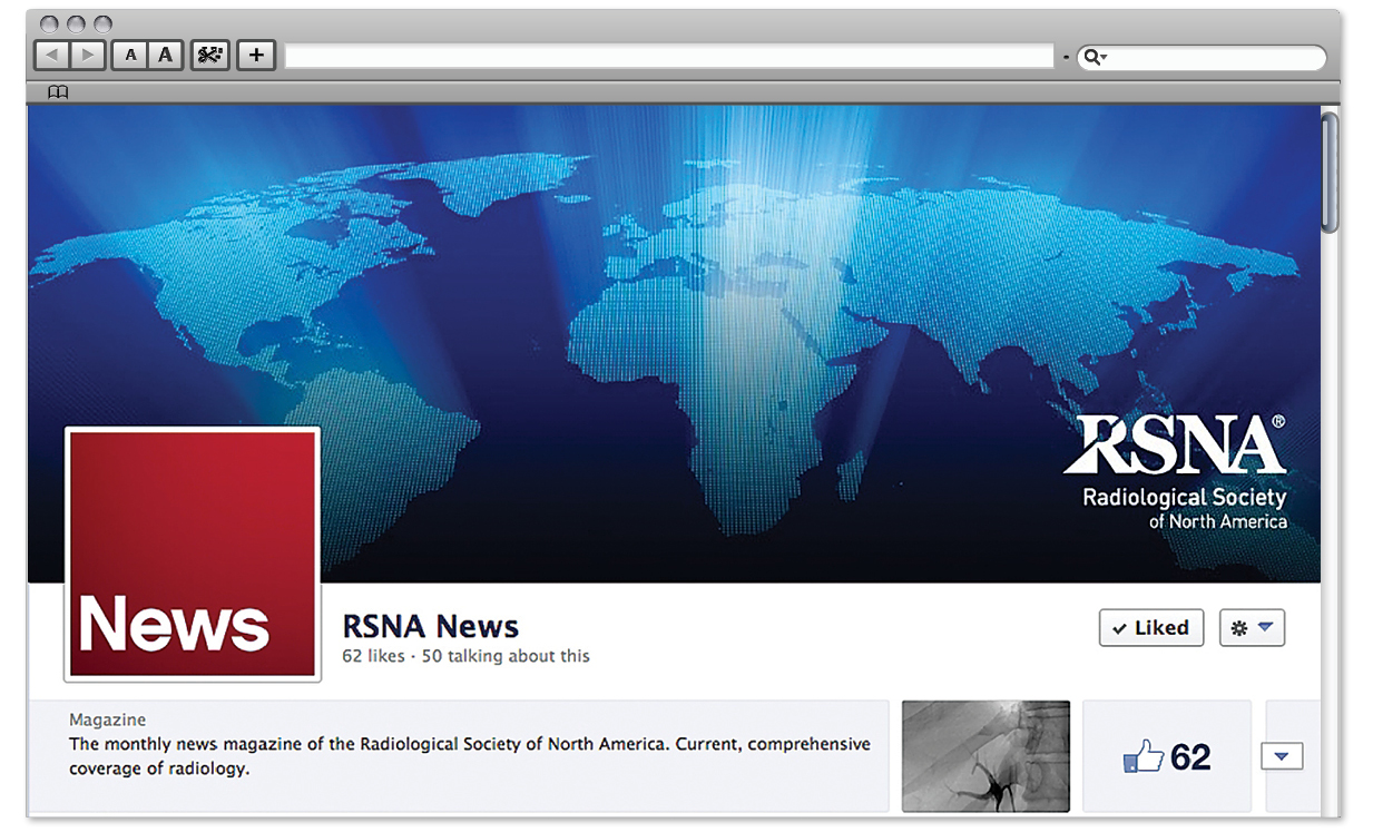 RSNA News on Facebook