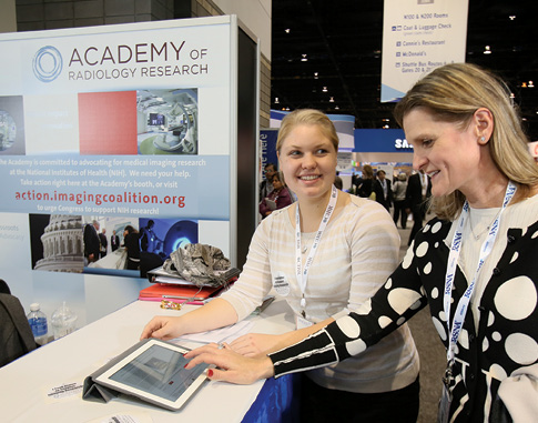 Thousands Support NIH Research at RSNA 2013