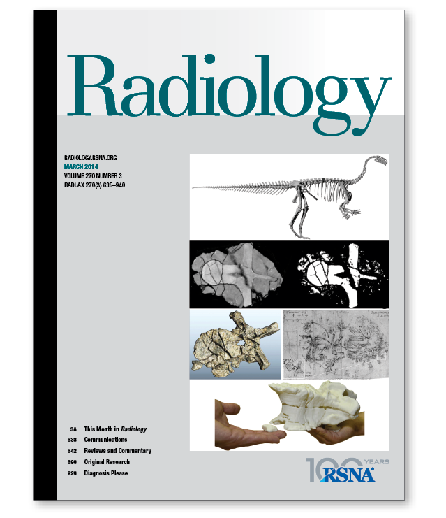 Radiology, March 2014