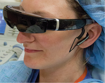 Video Glasses Cut Patient Anxiety in IR Procedures