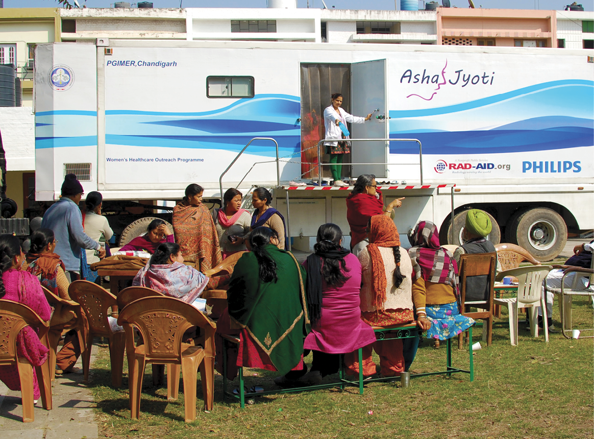 RAD-AID's ASHA Jyoti Women's Health Program in Northern India