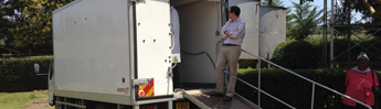 Digital Mobile X-ray Truck Brings Imaging to Rural Kenya