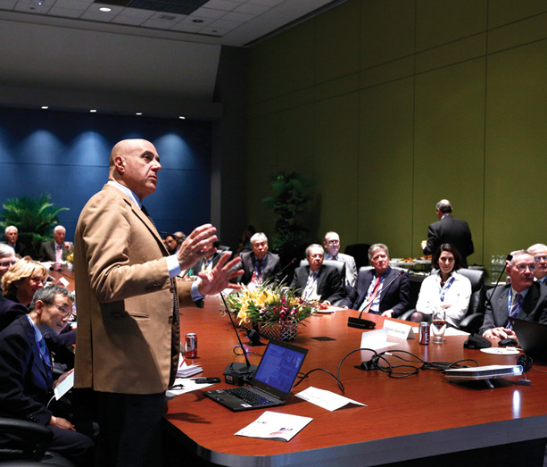 Leaders from around the world gathered at the RSNA 2015 International Trends session
