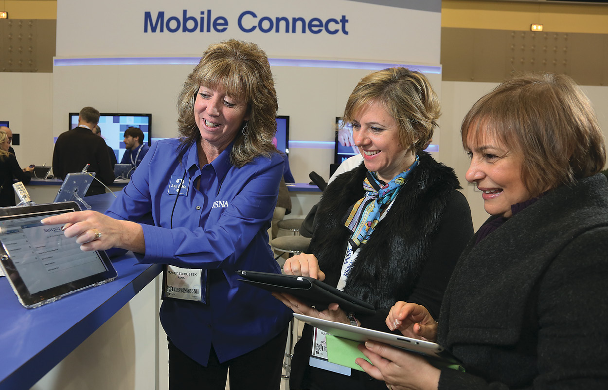 RSNA12 Mobile Connect