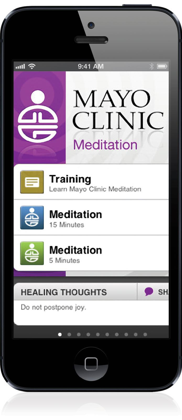 Mayo Clinic Meditation app