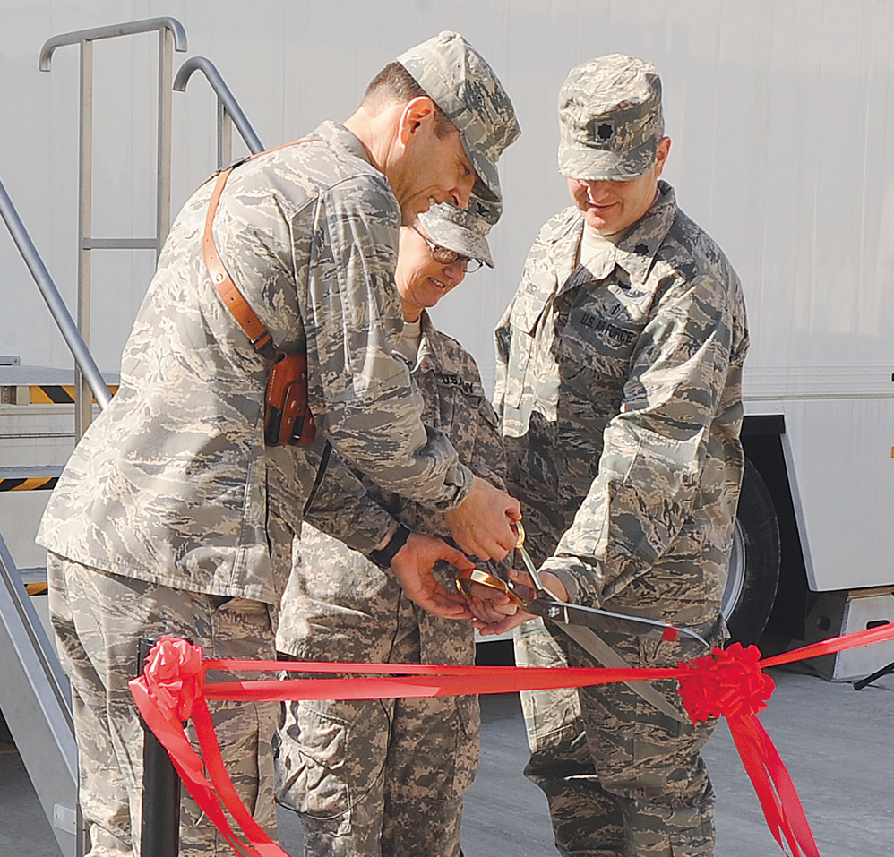 Afghanistan MRI center ribbon cutting