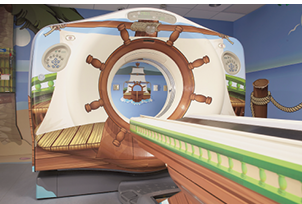 Adventure-themed CT suite, Pirate Island
