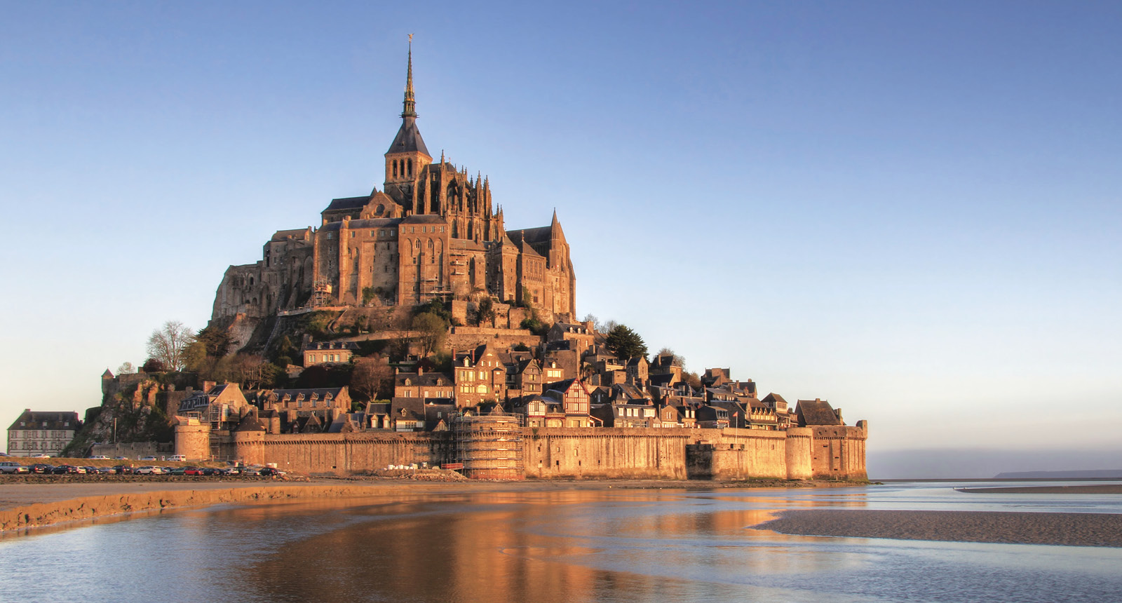 Mont Saint-Michel island commune in Normandy