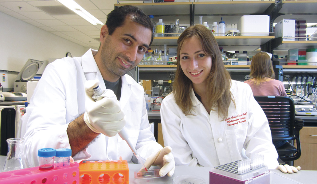 Hossein Nejadnik, M.D., Ph.D., and Fanny Chapelin, M.D.