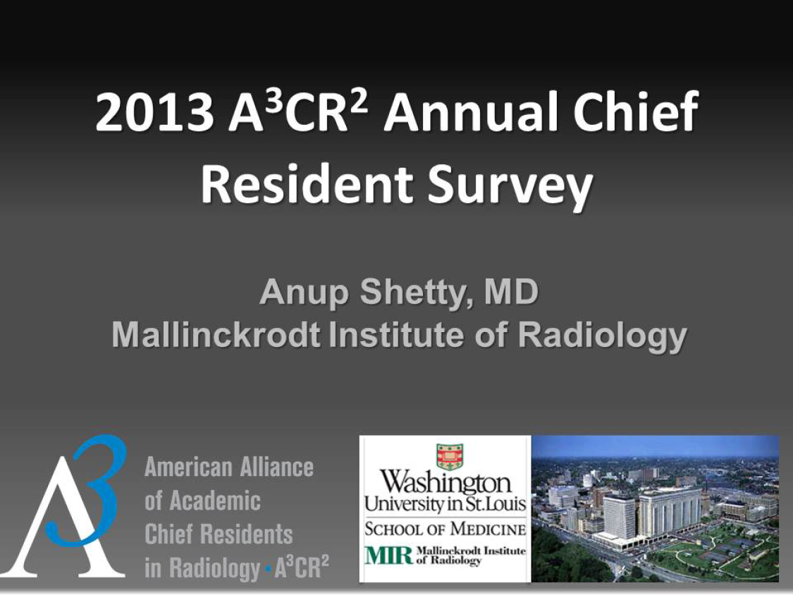 A3CR2 Annual Survey title