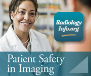 RadiologyInfo.org App - Patient Safety in Imaging